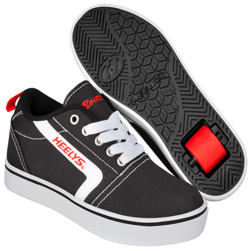 Picture of Heelys - Size 12 - GR8 Pro Black, White and Red