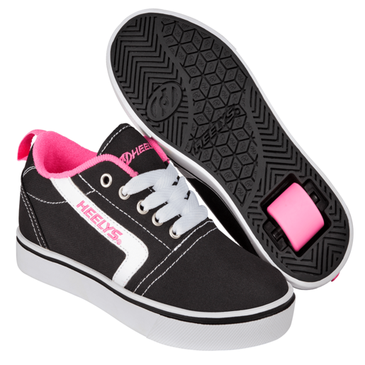 Picture of Heelys - Size 12 - GR8 Pro Black, White and Pink