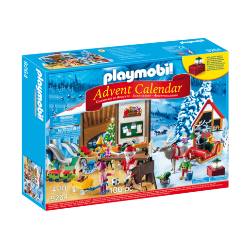 Picture of Playmobil Advent Calendar Santa Workshop - 9264