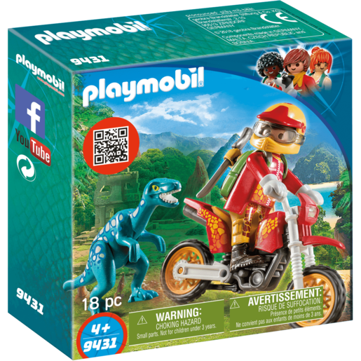Picture of Playmobil Motocross Raptor - 9431