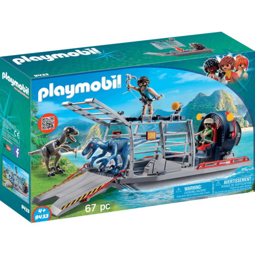 Picture of Playmobil Enemy Airboat Raptor - 9433