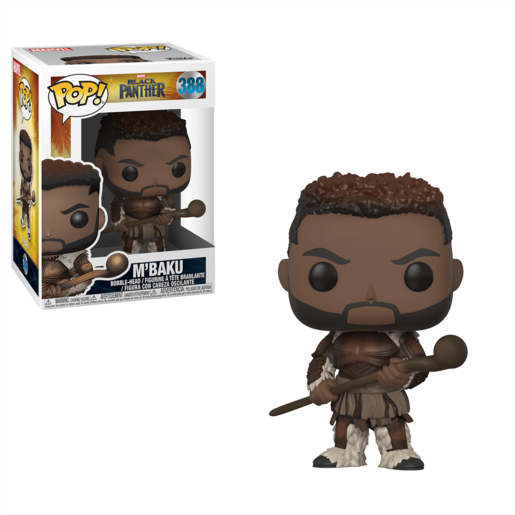 Picture of Funko Pop! Marvel Black Panther - M'Baku