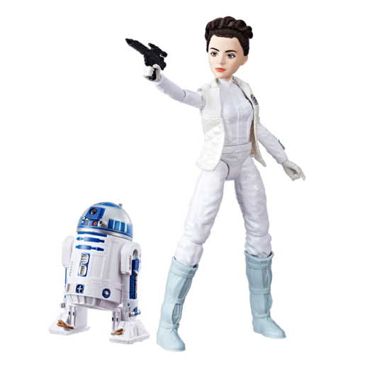 Picture of Star Wars Forces Of Destiny - Princess Leia Organa and R2-D2