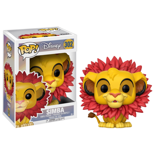 Picture of Funko Pop! Lion King - Simba Leaf Mane