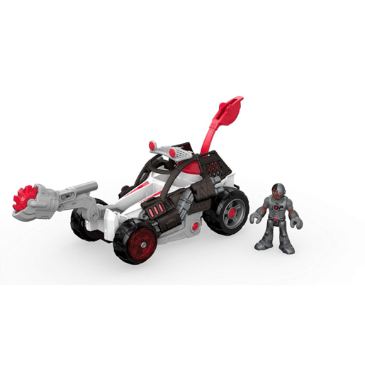 Picture of Fisher-Price Imaginext Streets of Gotham City - Cyborg and Saw Buggy