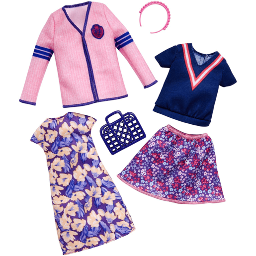 Picture of Barbie Fashions Varsity - 2 Pack Outfit