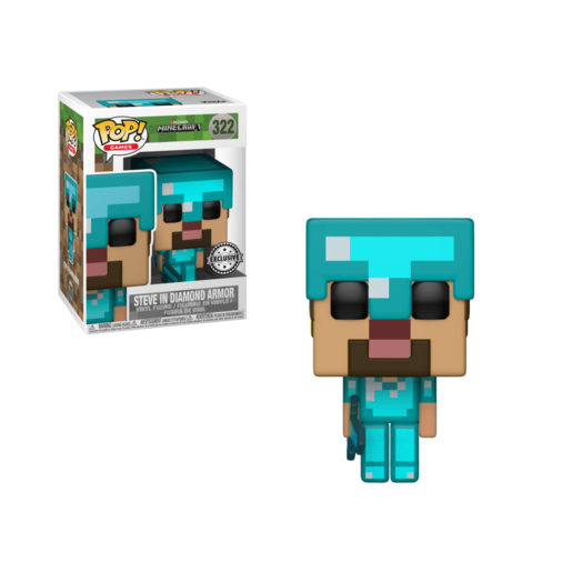 Picture of Funko Pop! Minecraft Steve Armor
