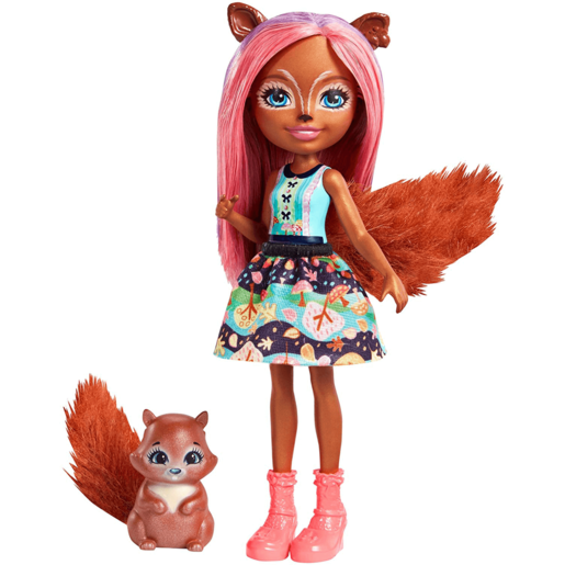 Picture of Enchantimals Sancha Squirrel Doll