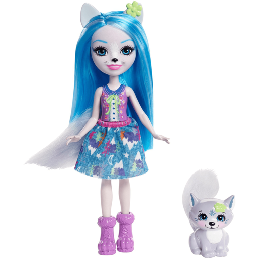 Picture of Enchantimals Winsley Wolf Doll & Trooper Pet