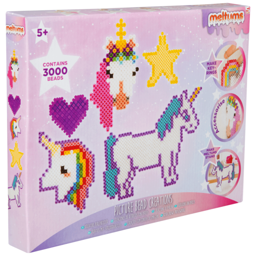 Picture of Meltums Picture Bead Creation - Unicorns