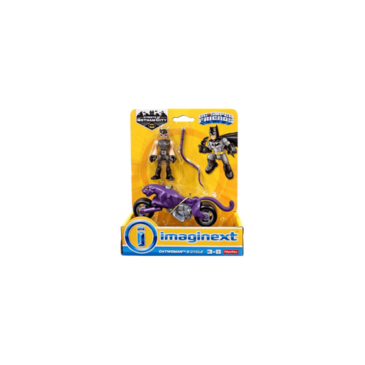 Picture of Imaginext DC Super Friends Streets of Gotham City - Catwoman and Cycle