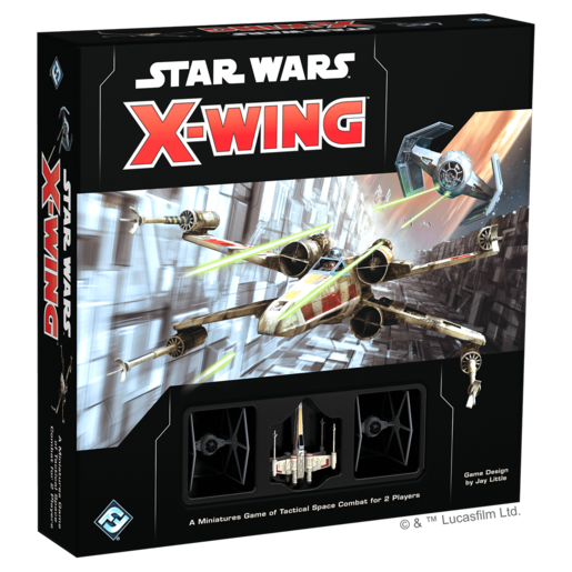 Picture of Star Wars X-Wing Core Set Second Edition Game