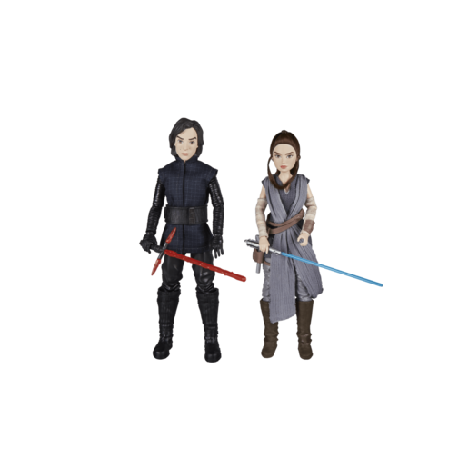 Picture of Star Wars Forces of Destiny 2 Pack Action Figures - Rey and Kylo Ren
