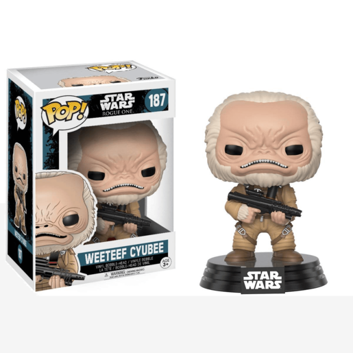 Picture of Funko Pop! Movies: Star Wars Rogue One W2 -  - Weeteef Cyubee
