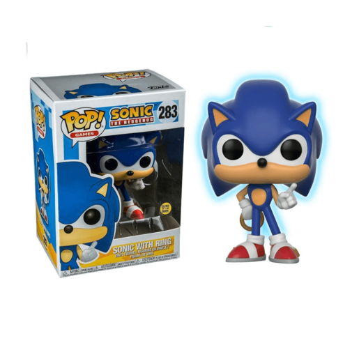 Picture of Funko Pop! Games: Sonic - Sonic with Ring (Glow)