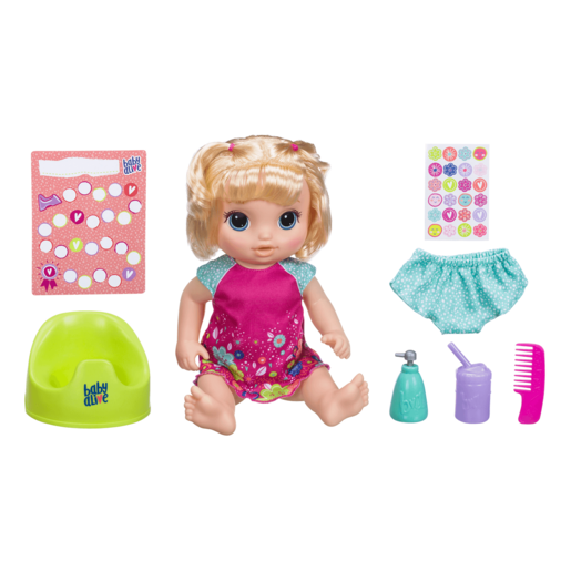 Picture of Baby Alive Potty Dance Baby - Blonde Straight Hair