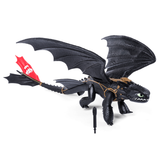 Picture of DreamWorks Dragons - Interactive Barrel Roll Toothless Dragon