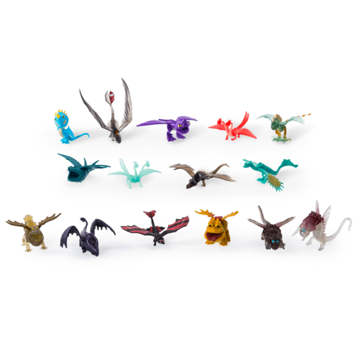 Picture of DreamWorks Dragons - 15 Pack Battle Dragons