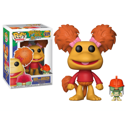Picture of Funko Pop! Television: Fraggle Rock 35th Anniversary - Red with Doozer