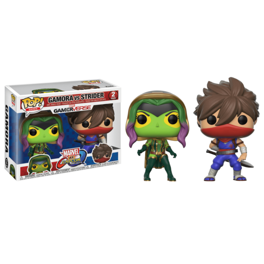 Picture of Funko Pop! Games: Marvel vs. Capcom Infinite - Gamora vs Strider