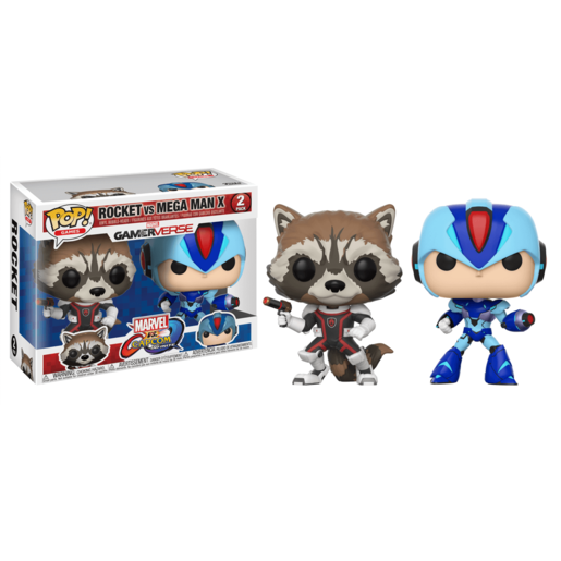 Picture of Funko Pop! Games: Marvel vs. Capcom Infinite - Rocket vs Mega Man