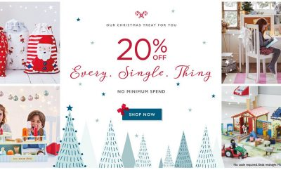 GLTC 20% Off Everything at Great Little Trading Company on Black Friday 2018