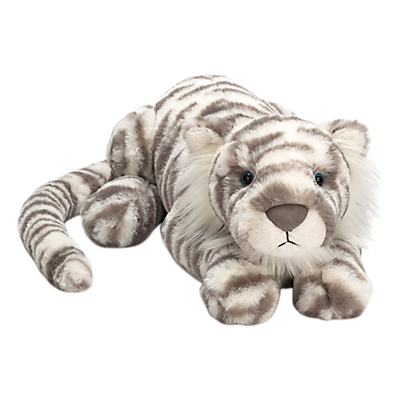 Picture of Jellycat Sacha Snow Tiger Soft Toy