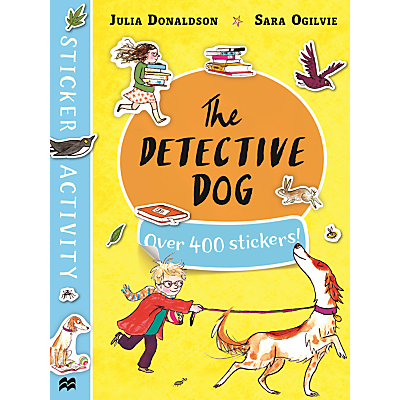 Picture of The Detective Dog And Charlie Cook's Favourite Book Sticker Books, Pack of 2