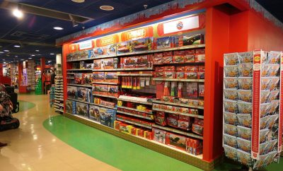 Hamleys Manchester model section