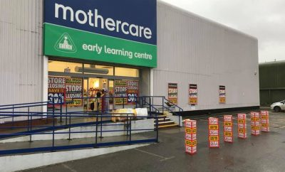 Mothercare closing down sales begin