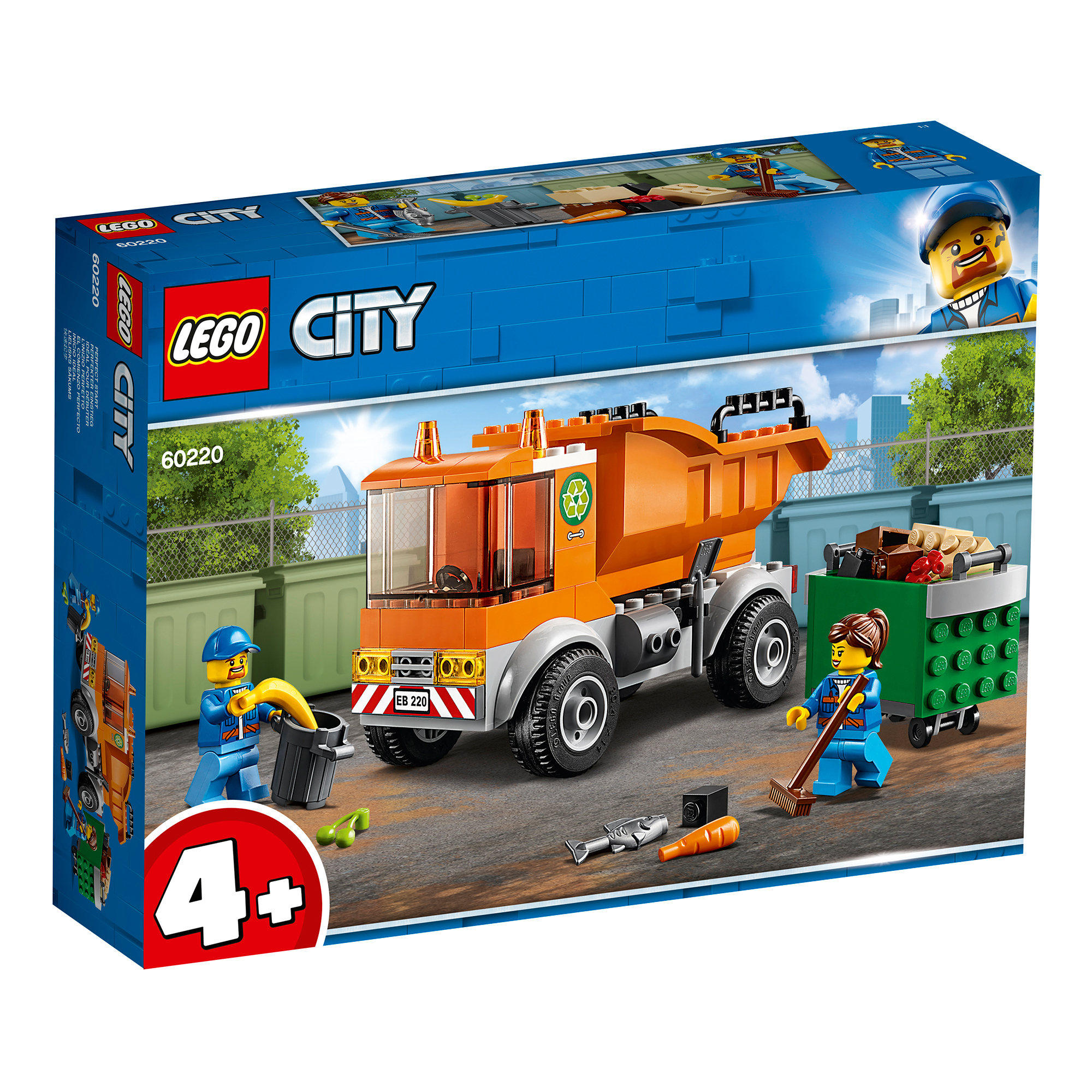 Picture of LEGO City Garbage Truck 60220