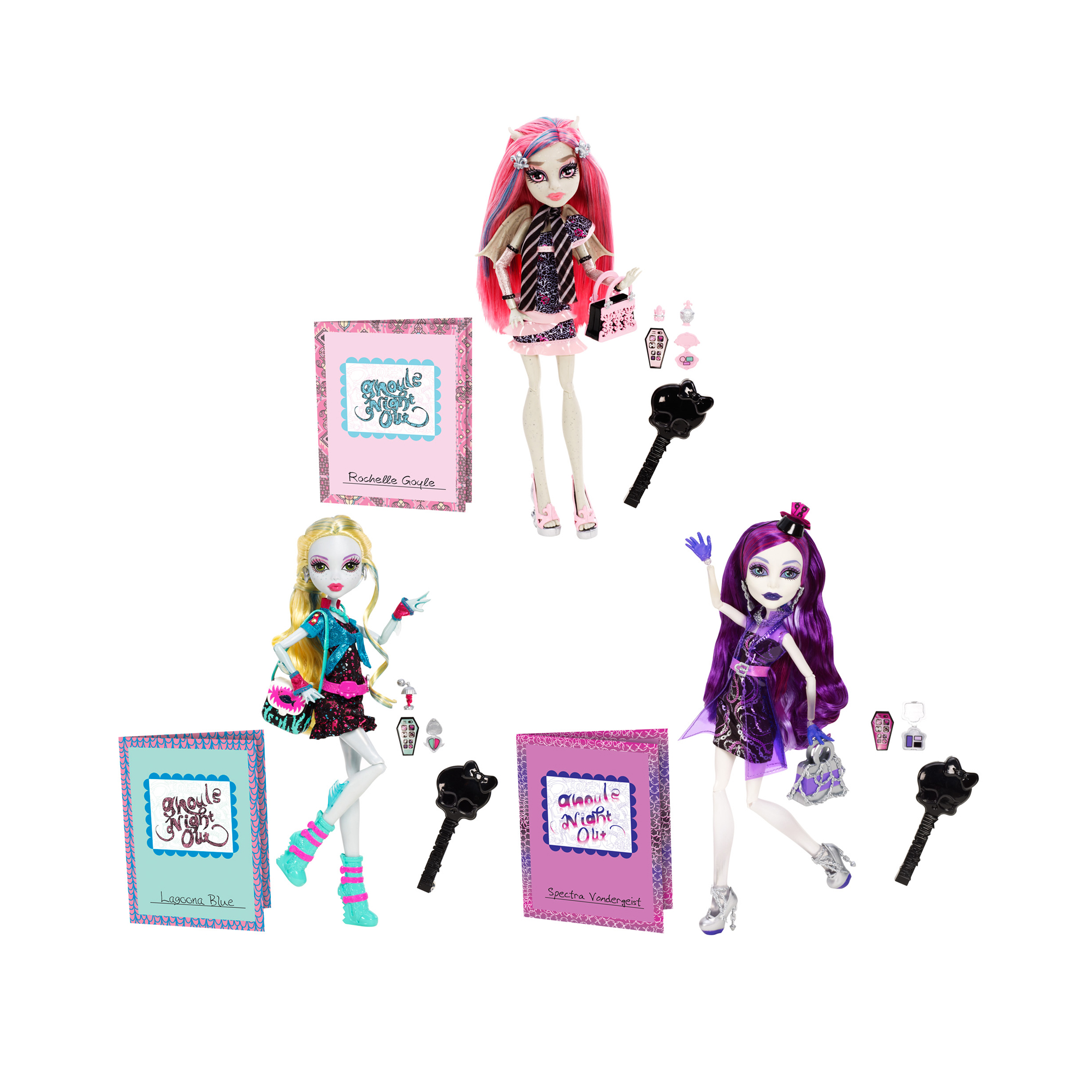 Picture of Monster High Ghouls Night Out Doll Assortment