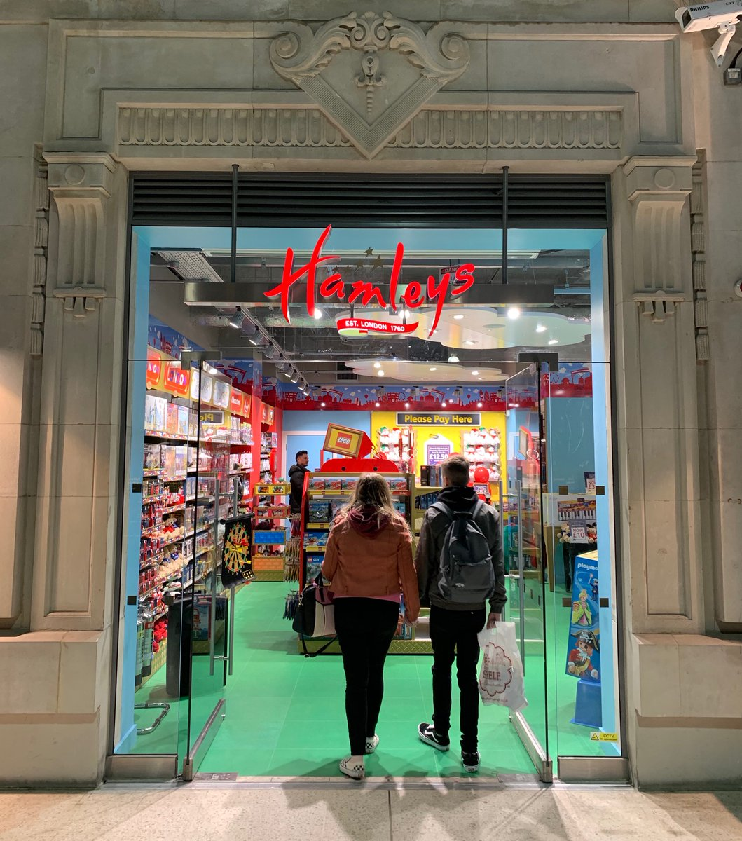 Hamleys newest store in Waterloo Railway Station London.