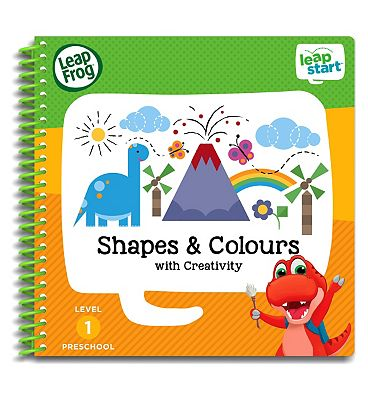 Picture of LeapFrog LeapStart Preschool Activity Book - Level 1 Shapes & Colours