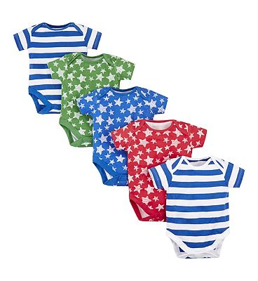 Picture of mini club 5 pack bodysuits