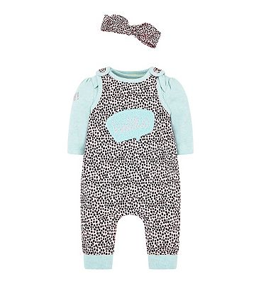 Picture of GFC DUNGAREE  SET