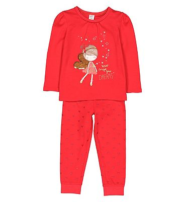 Picture of mini club xmas fairy pyjama