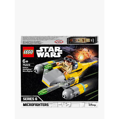 Picture of LEGO Star Wars 75223 Naboo Starfighter Microfighter