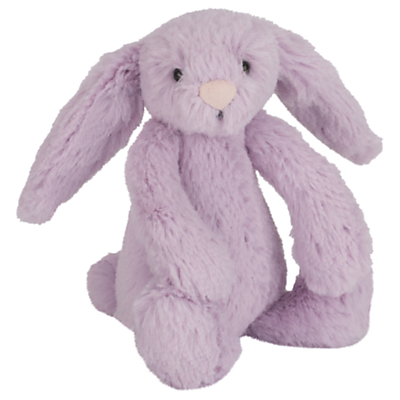 Picture of Jellycat Bashful Bunny Soft Toy, Baby, Purple
