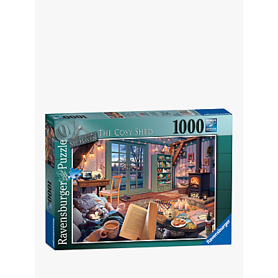 Picture of Ravensburger The Cosy Shed Jigsaw Puzzle, 1000 Pieces