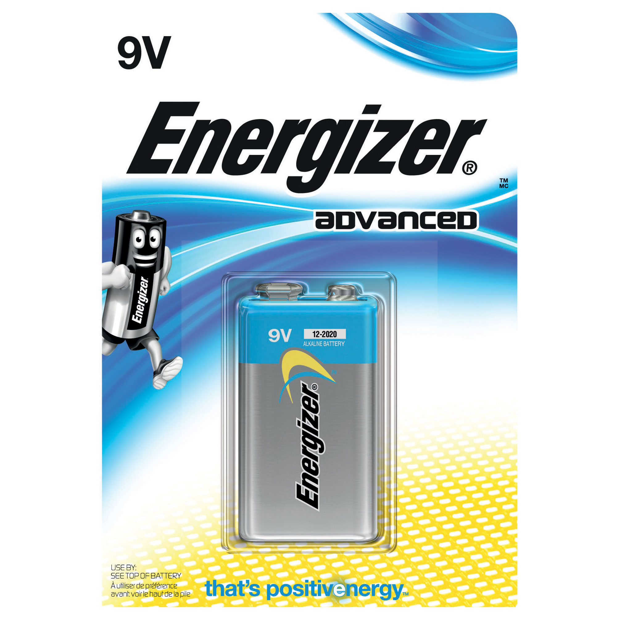 Picture of Energizer Advanced 9V Battery 1 Pack