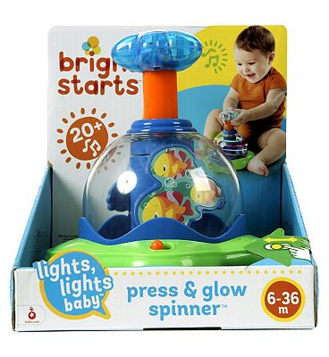 Picture of Bright Starts Lights Lights Baby Press and Glow Spinner Toy