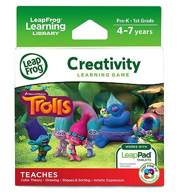 Picture of LeapFrog Creativity Learning Game - Trolls