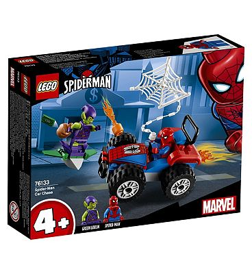 Picture of LEGO Marvel Spider-Man Car Chase 76133