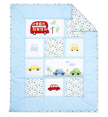 Picture of Mothercare on the road quilt