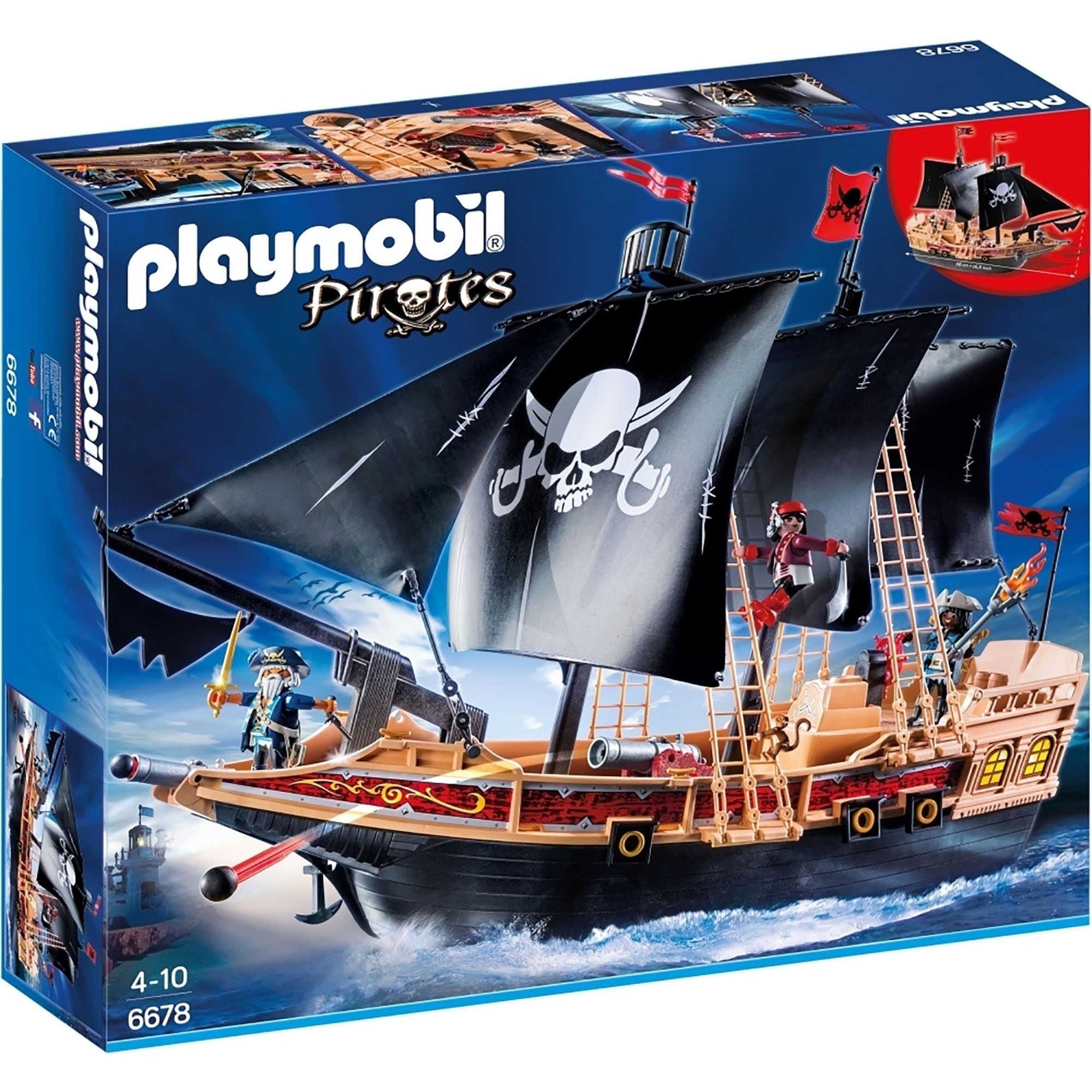 Picture of Playmobil Pirate Raiders' Ship 6678