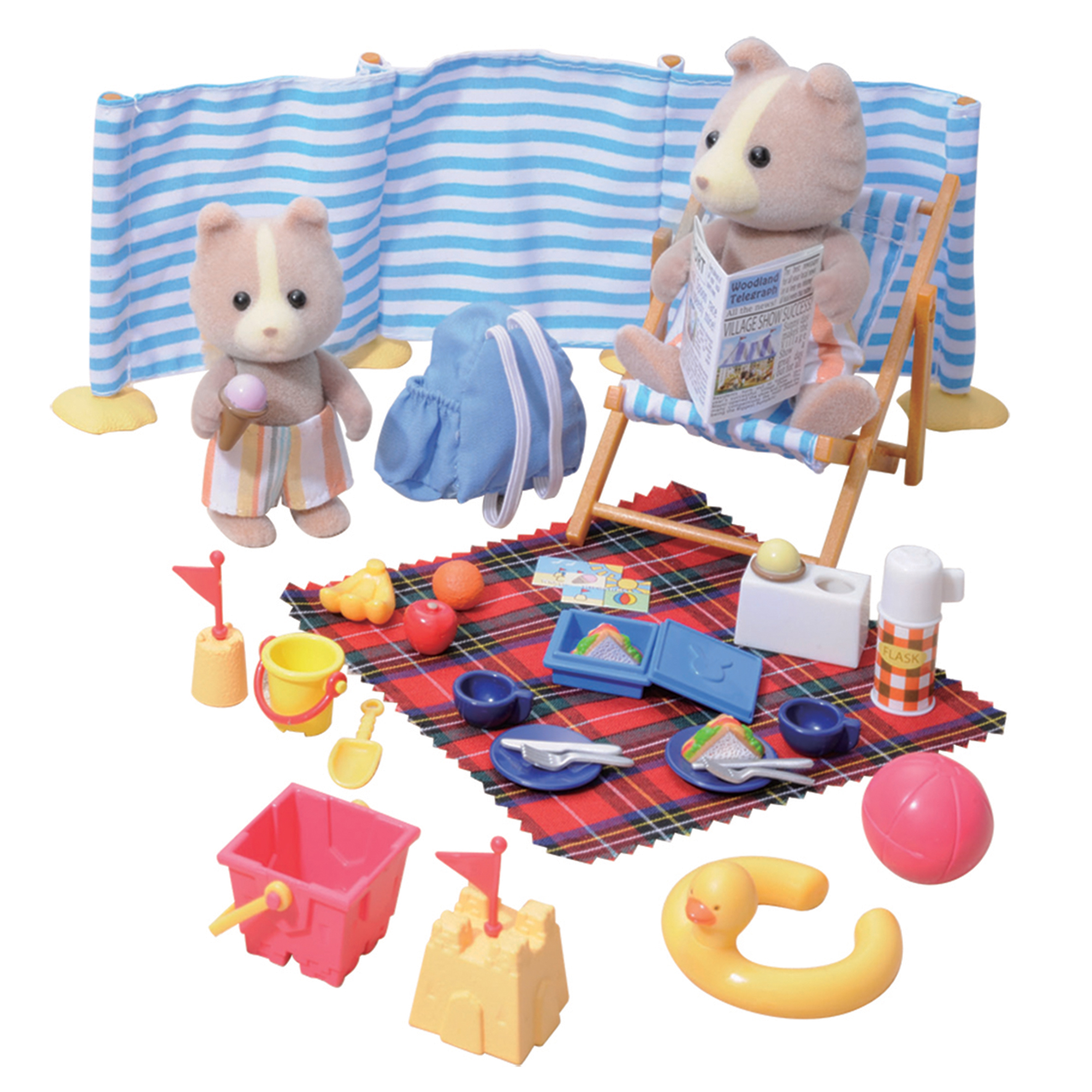 Picture of Sylvanian Families Family Day At The Seaside