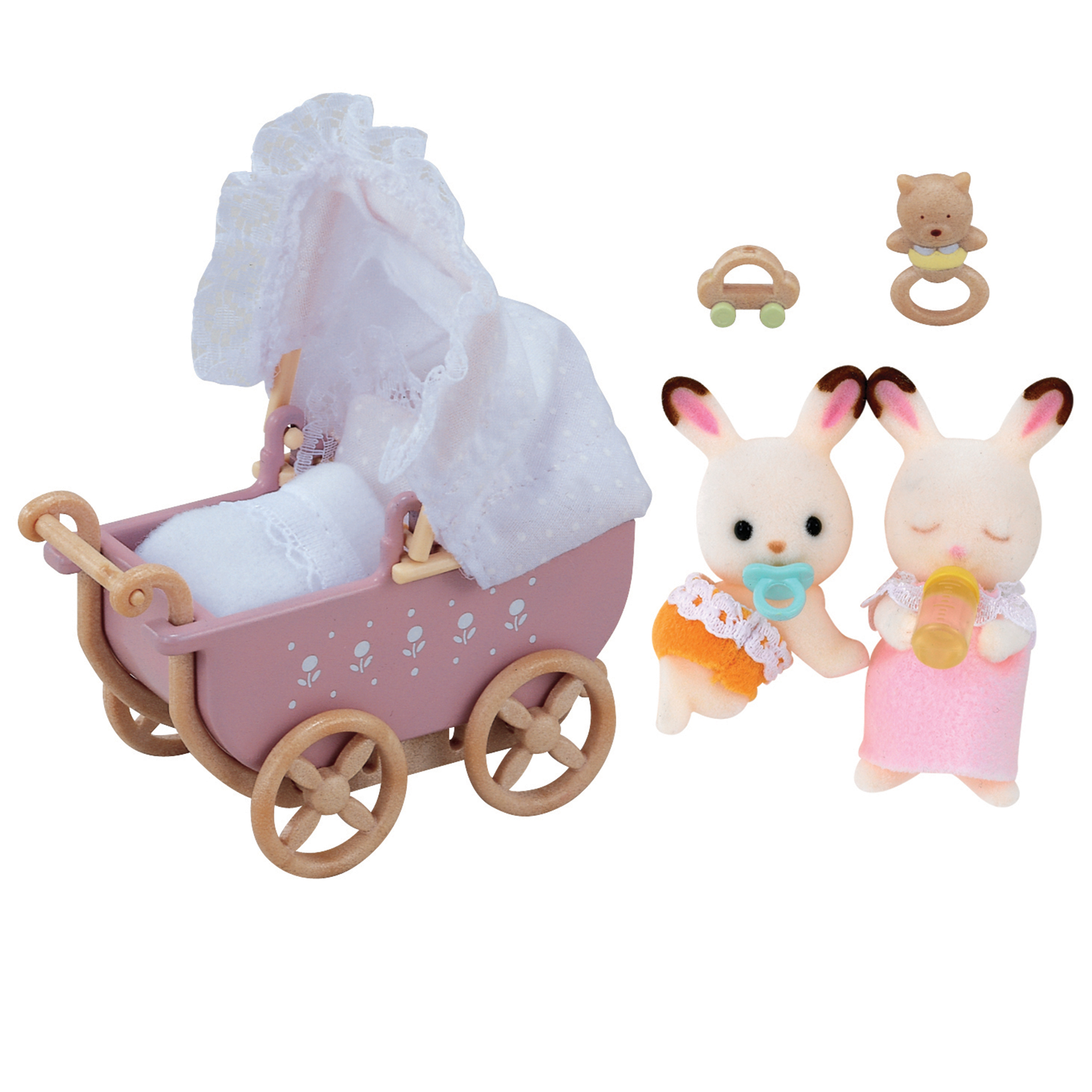 Picture of Sylvanian Families Baby Chocolate Rabbit Twins