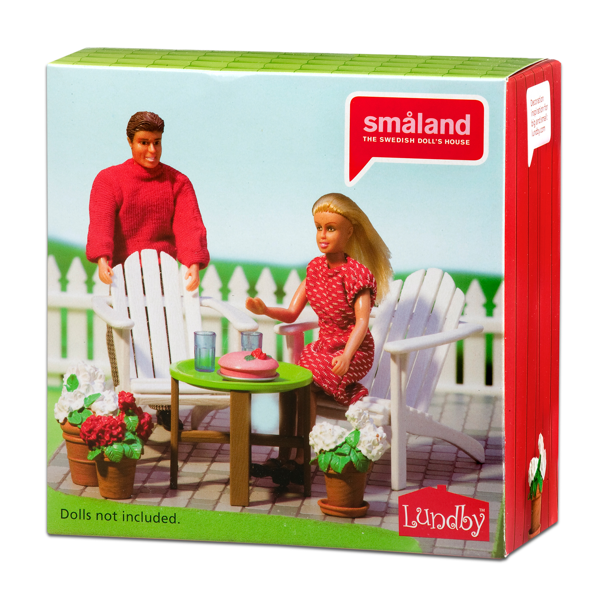 Picture of Lundby Smaland Garden Furniture Set