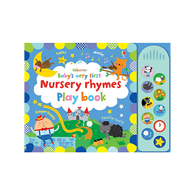 Picture of Baby's Very First Nursery Rhymes Play Book Children's Book